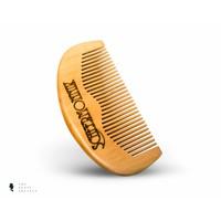 BRDS Grooming compacte natuurlijke baardborstel met wildzwijnenhaar