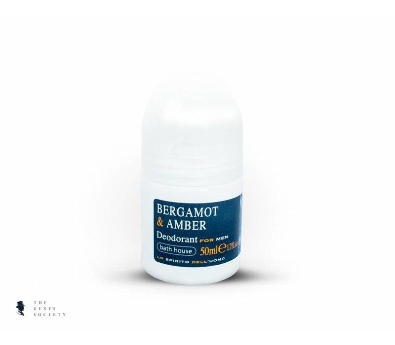 deodorant Bergamot & Amber