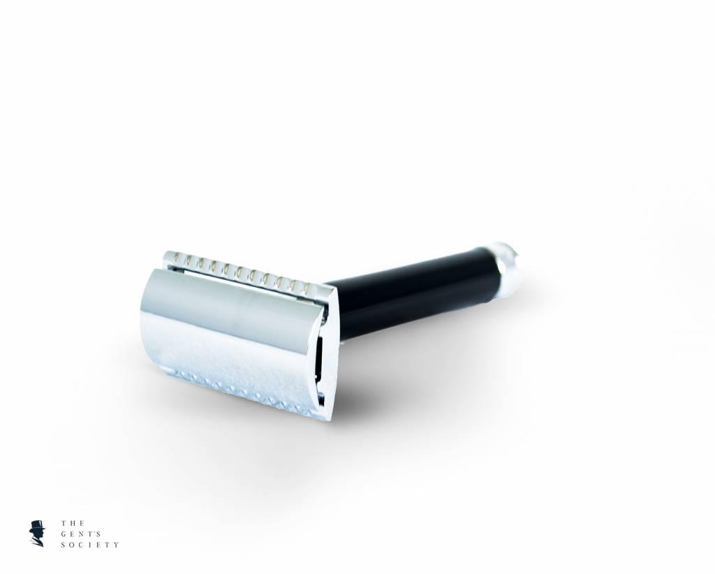 aa967074422 Mühle scheermes R106 zwart met veilig gesloten kam - The Gent's Society