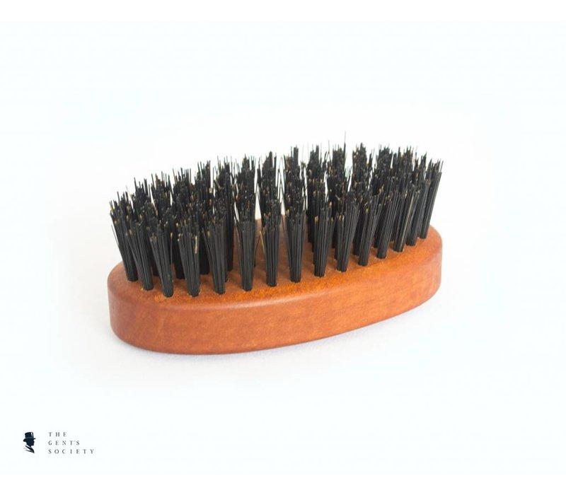 medium natuurlijke baardborstel met wildzwijnenhaar