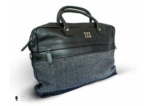 Tresanti luxe zwart lederen tas