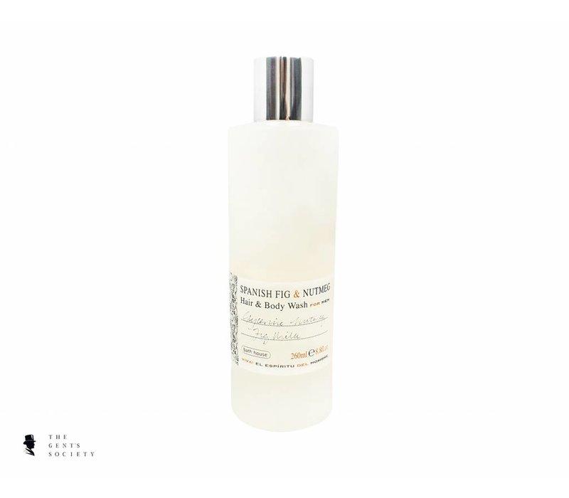 shampoo & body wash Spanish Fig & Nutmeg