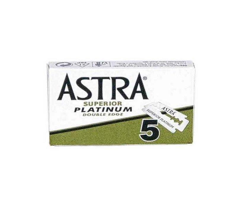 5x Astra Double Edge scheermesjes