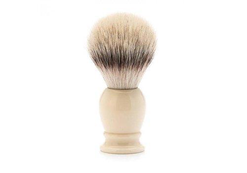 Mühle luxe ivoor scheerkwast Silvertip Fibre