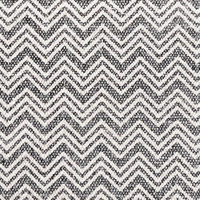 Hubsch kussen, katoen, grijs/wit - 507009