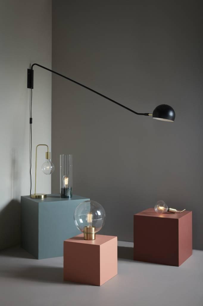 Hubsch tafellamp marmer/glas groen-890401-5712772059531