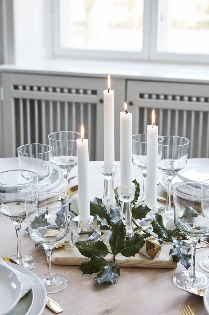 Hubsch wijnglazen witte wijn - helder glas - 4st.-480108-5712772047132