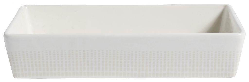 Nordal ovenschaal Graphic rechthoekig - 18 x 23 cm-5768-5708309124780