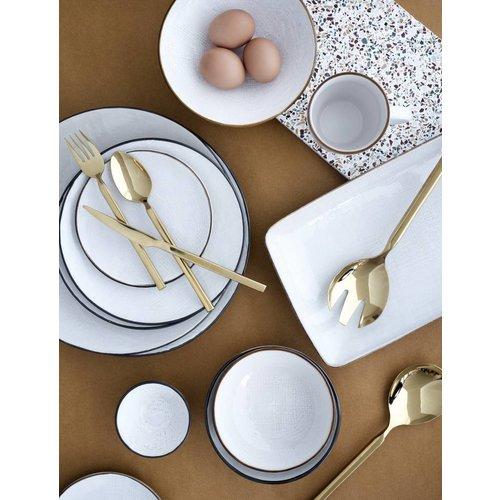 Broste Copenhagen mok Hessian crème - 0,25 L