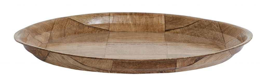 Nordal dinerbord berkenhout bruin -  Ø28 cm-2067-5708309134307