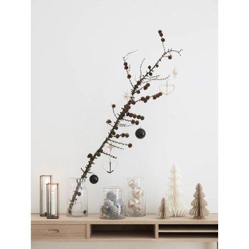 Hubsch bijtafel bruin eikenhout