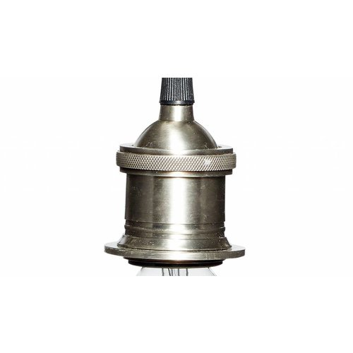 Hubsch fitting/hanglamp zilver metaal
