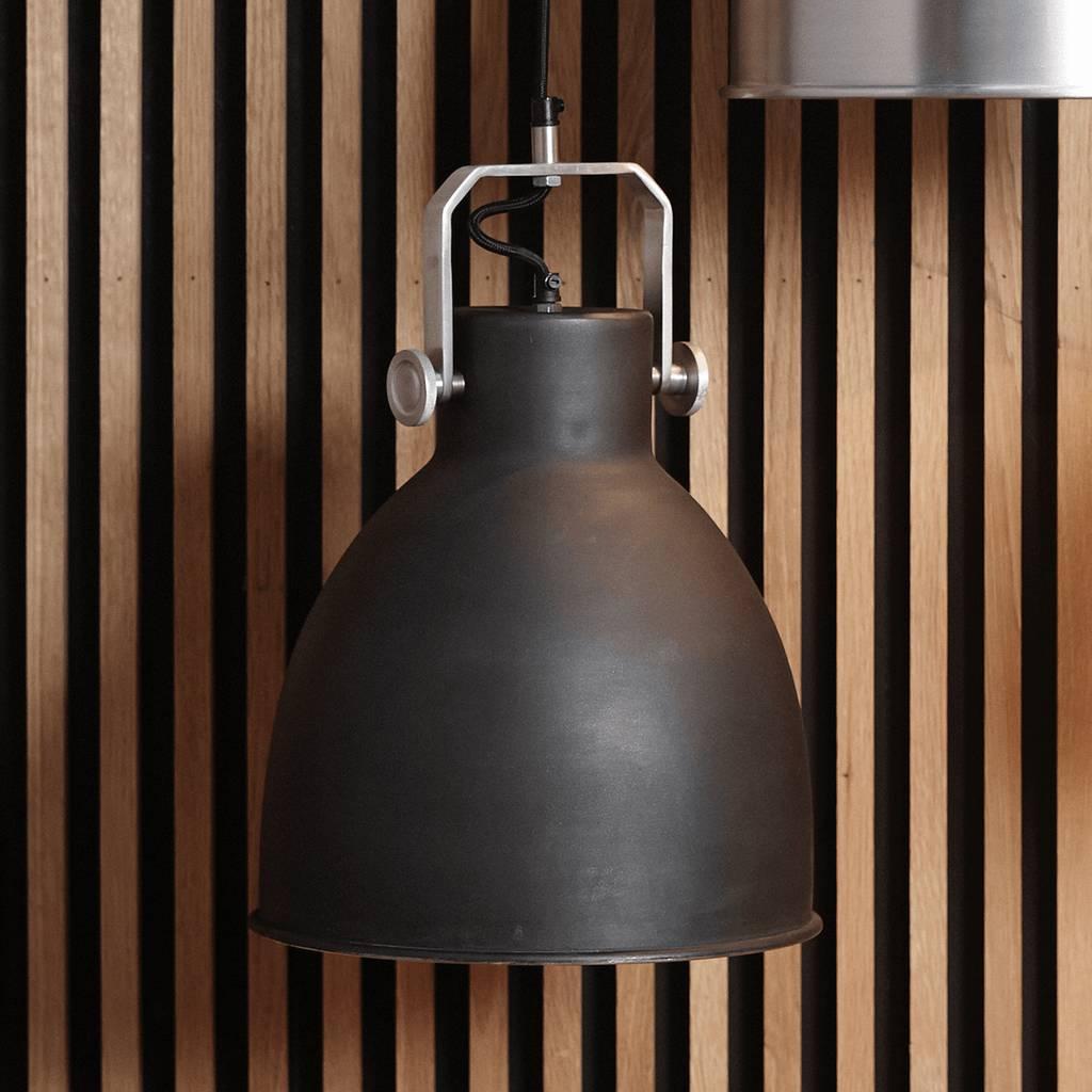 Hubsch Hanglamp - 329001 - 29 x H41 cm - Zwart-329001-5712772041055