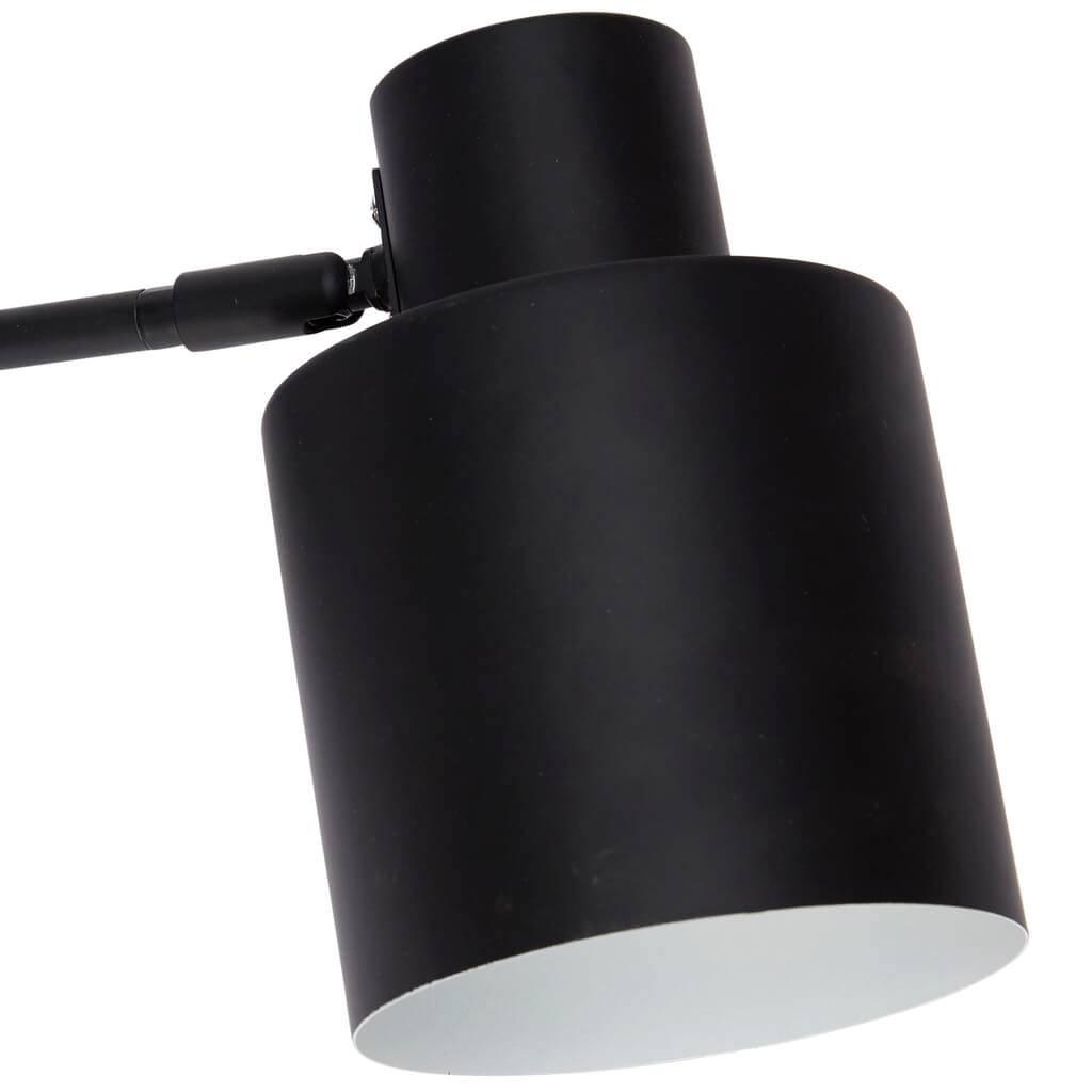 Hubsch wandlamp - zwart/wit metaal - E27/40W - 29 x 12 x 17 cm-890305-5712772056165