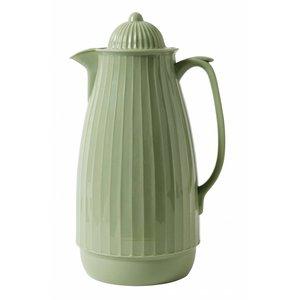 Nordal thermoskan mosgroen kunststof/glas