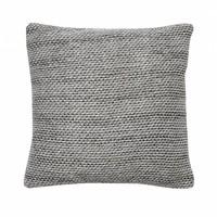 sierkussen grijs textiel