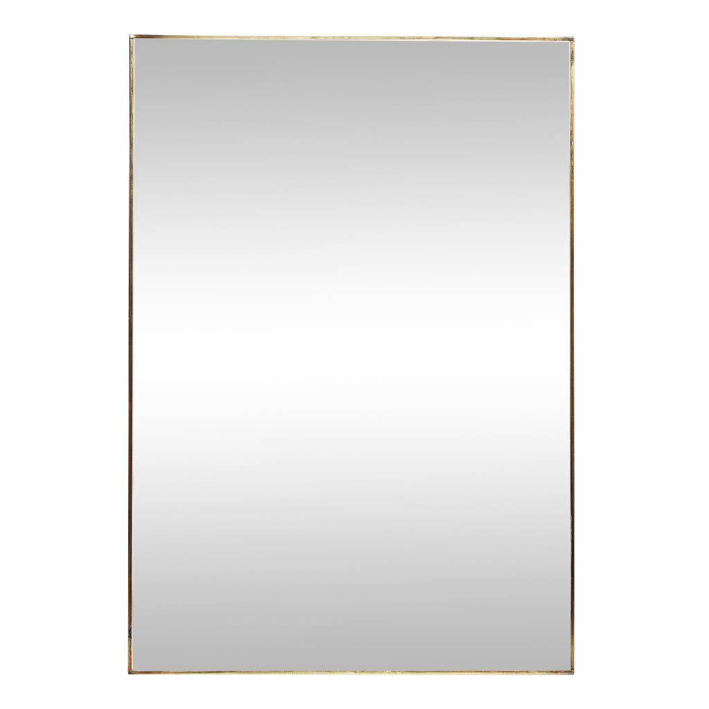 Hubsch spiegel goud metaal-407021-5712772033449