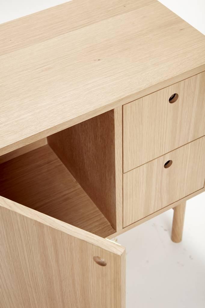Hubsch dressoir bruin eikenhout-880603-