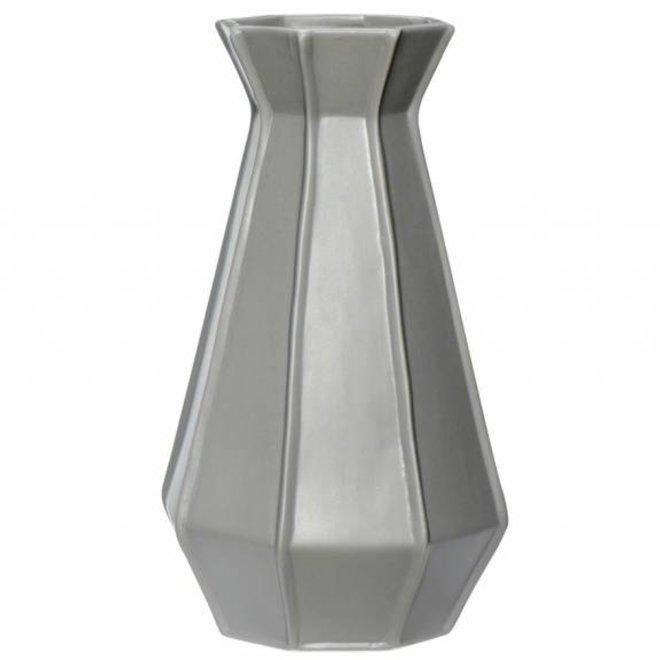 vaas grijs aardewerk
