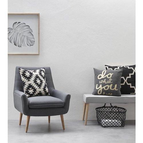 Hubsch Fauteuil - Arianda - Grijs - Design