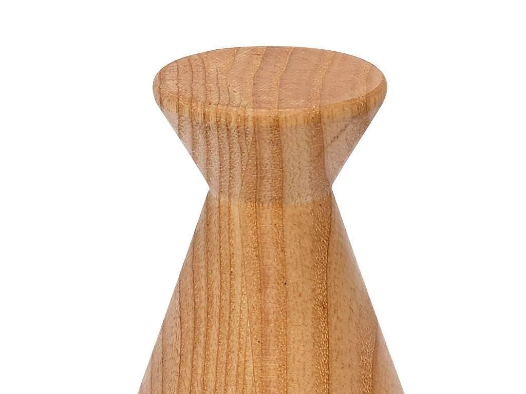 Hubsch kapstokhaak bruin eikenhout