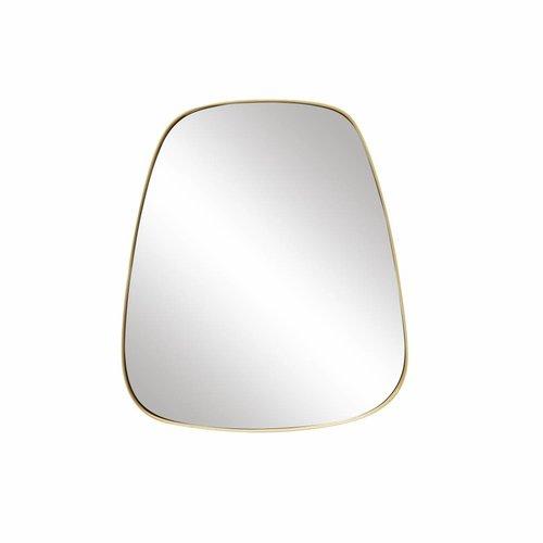 Hubsch spiegel goud metaal trapezium
