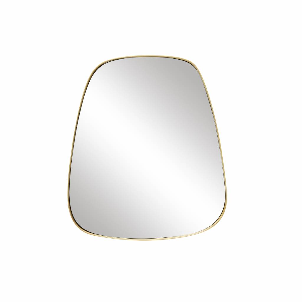 Hubsch spiegel goud metaal trapezium-340503-5712772060957