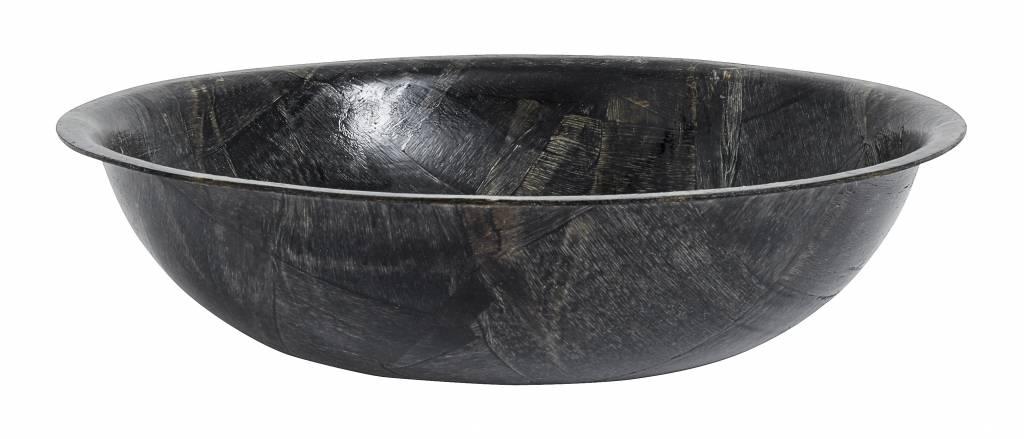 Nordal schaal zwart berkenhout - ø25 cm