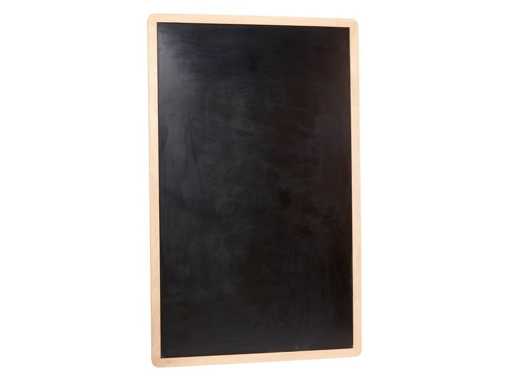 Hubsch krijtbord bruin/zwart eikenhout