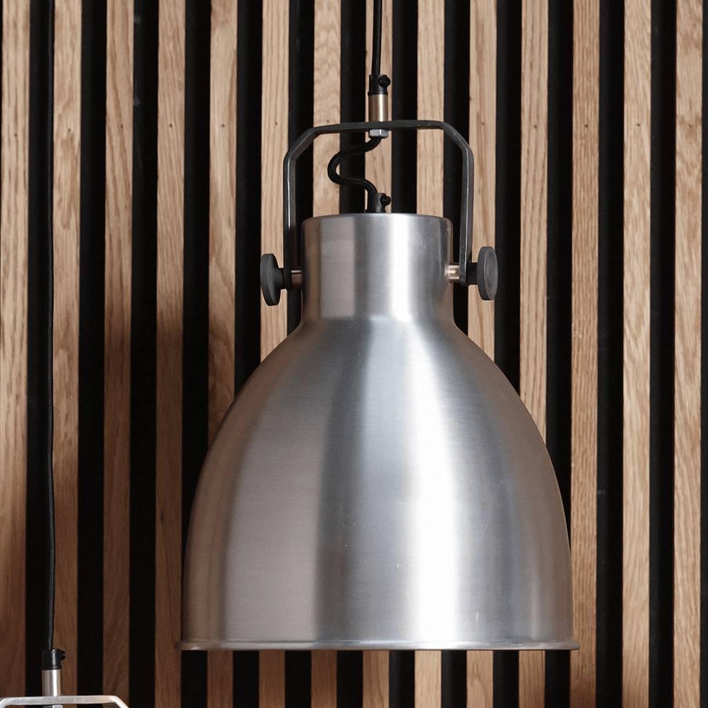 Hubsch hanglamp zilver metaal