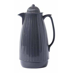 Nordal thermoskan grijs kunststof/glas