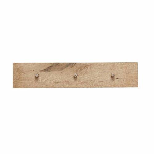 Hubsch kapstok bruin eikenhout