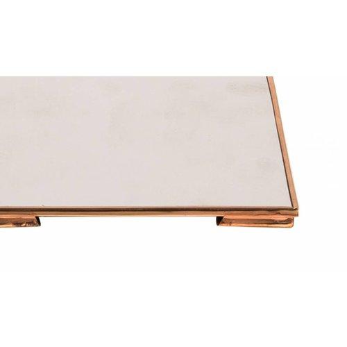 Broste Copenhagen spiegel koper metaal rechthoek
