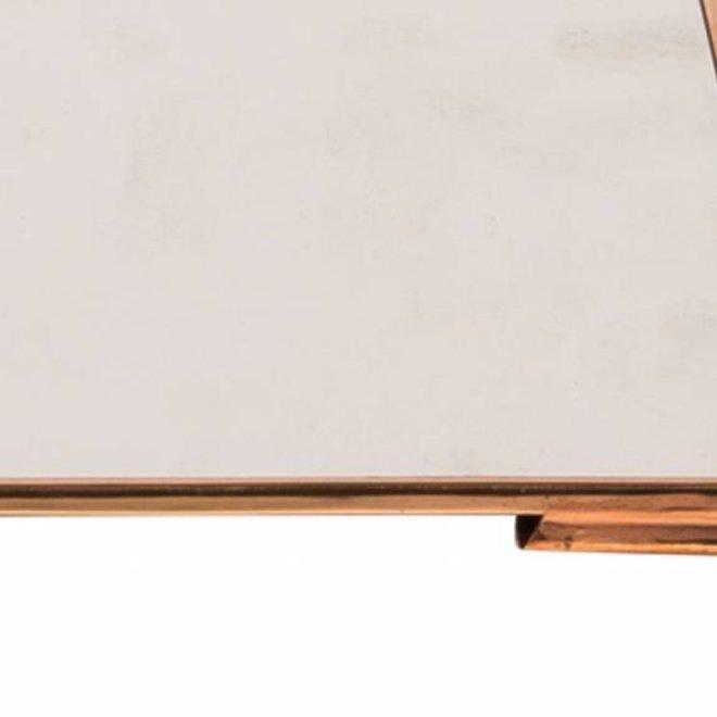 spiegel koper metaal rechthoek