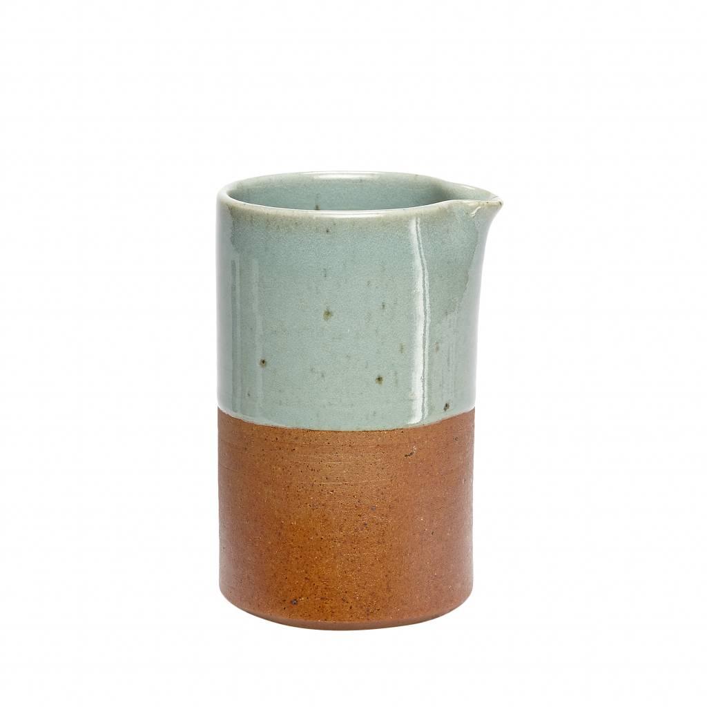 Hubsch kan blauw/bruin aardewerk-338001-5712772037034