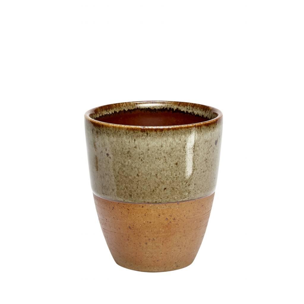 product - kleur - Hubsch mok terracotta set van 2