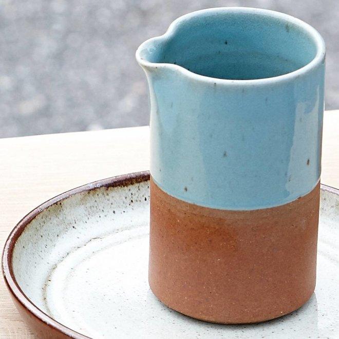 Hubsch kan bruin aardewerk - 338008