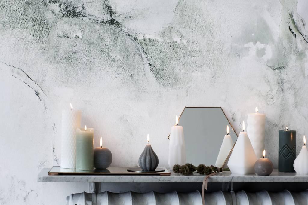 Broste Copenhagen spiegel koper metaal rechthoek-70140005-5710688031313