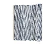 Broste Copenhagen vloerkleed, katoen, wit en blauw, 140 x 70 cm