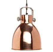 Hubsch hanglamp, metaal, roodkoper en grijs, ø29 x 41 cm