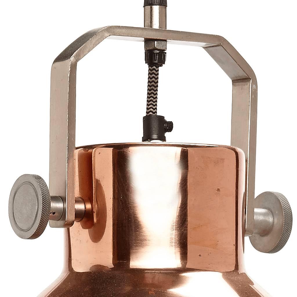 Hubsch hanglamp, metaal, roodkoper en grijs, ø29 x 41 cm-328003-5712772036815