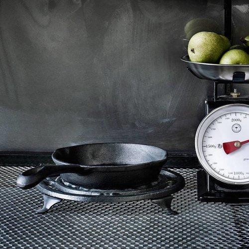 Nordal steelpan, gietijzer, zwart, ø13 cm