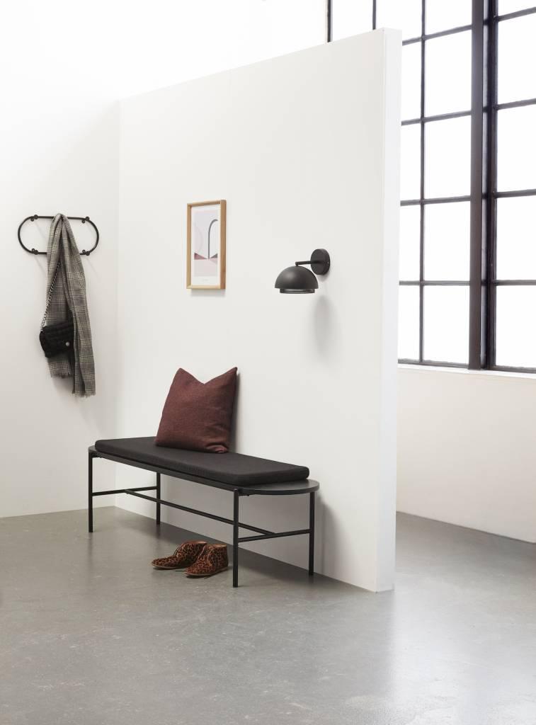 Hübsch Fotolijst, Eikenhout, Bruin, met Afbeelding, 30 x 42 cm - Set van 2. Hubsch 880711
