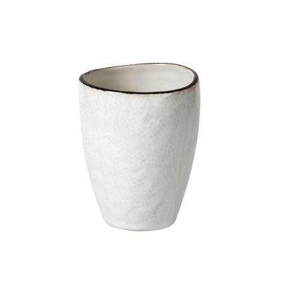 Broste Copenhagen beker Hessian espresso - crème/bruin aardewerk - 100 ml - set van 4. Broste Copenhagen 72020894