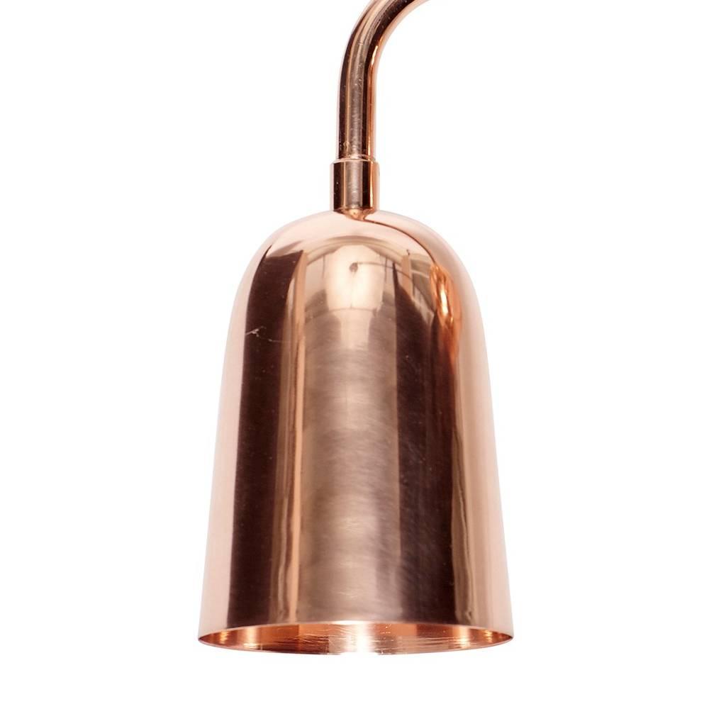 Hubsch wandlamp, koper, rood, E27 max. 40 Watt, 18 x 16 x 20 cm-400115-5712772047705