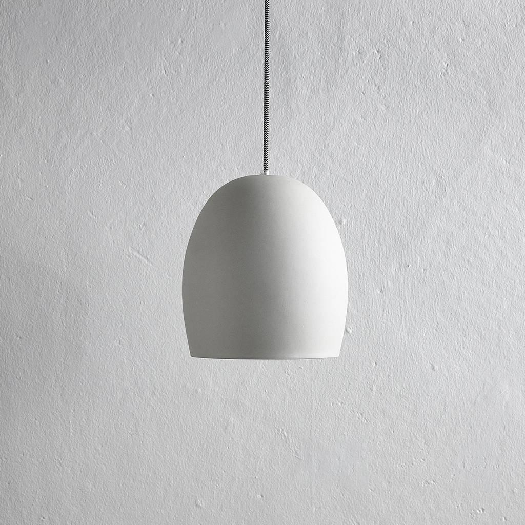 Hubsch hanglamp grijs cement - 479005 - ø23 x 30 cm-479005-5712772045497