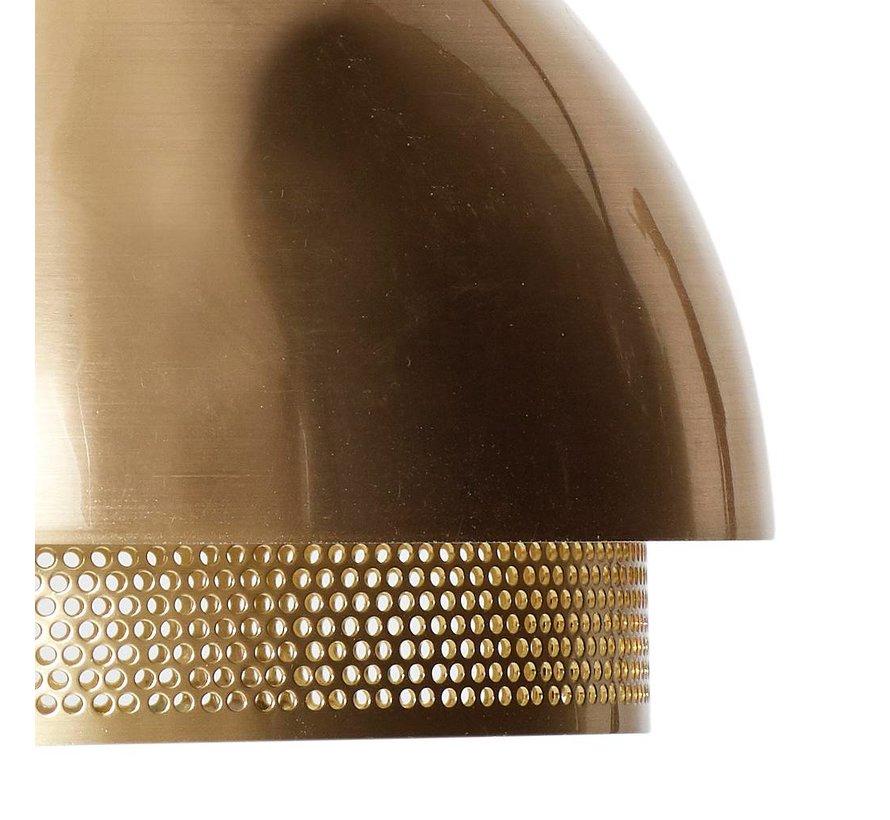 wandlamp - goud metaal - E14/15W - ø21 x 28 cm