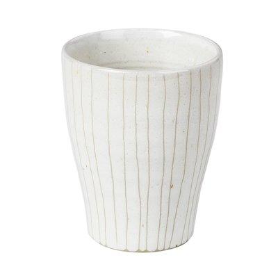 Broste Copenhagen beker Copenhagen espresso - ivoor/crème  aardewerk - 100 ml - set van 4. Broste Copenhagen 75210746