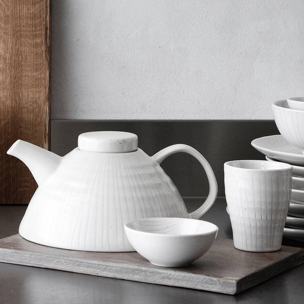 Broste Copenhagen beker Copenhagen espresso - ivoor/crème  aardewerk - 100 ml - set van 6-14531559-5710688140800