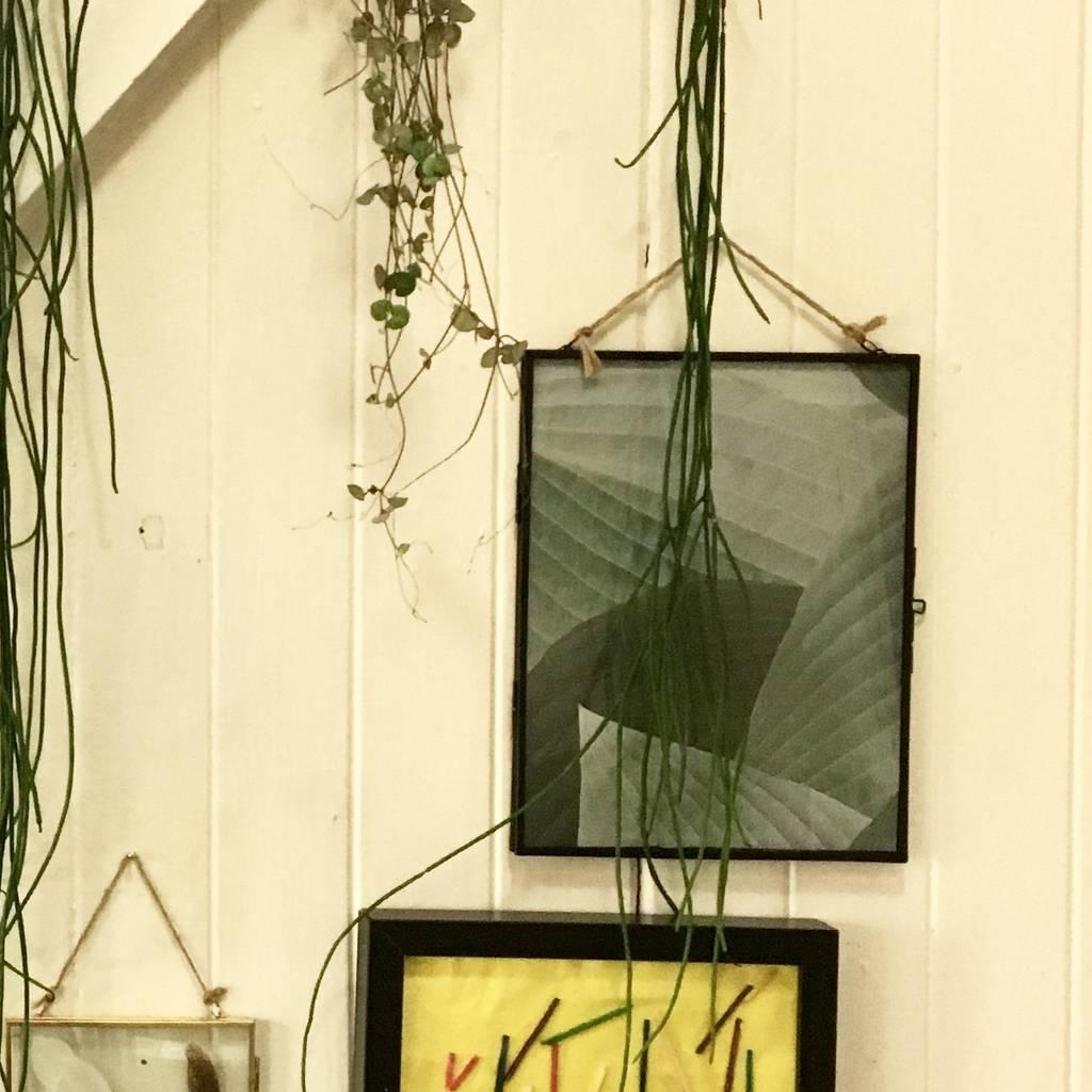Nordal fotolijst hangend - koper, glas - 26 x 20 cm-2478-5708309125350